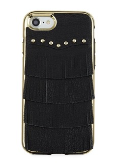 Rebecca Minkoff Fringe Leather Studded iPhone 7 Case