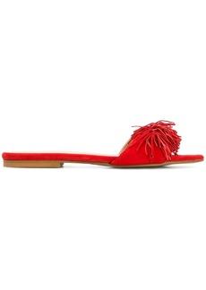 Rebecca Minkoff fringed sandals - Red