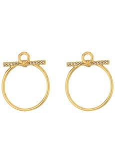 Rebecca Minkoff Front Facing Hoop Earrings