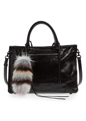 Rebecca Minkoff Genuine Fox Tail Fur Bag Charm