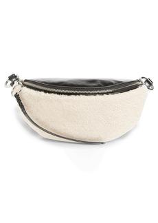 Rebecca Minkoff Genuine Shearling Belt Bag