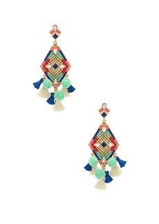 Rebecca Minkoff Geo Stone Earrings