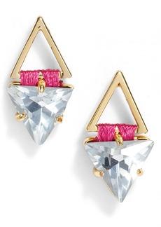 Rebecca Minkoff Geo Stud Earrings