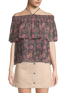 Rebecca Minkoff Ghiradelle Floral Top