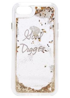 Rebecca Minkoff Goal Digger Glitterfall iPhone 7 Case