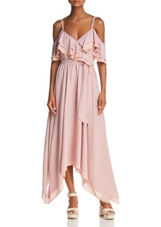 Rebecca Minkoff Hadlee Cold-Shoulder Goddess Maxi Dress