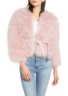 Rebecca Minkoff Harper Feather Jacket