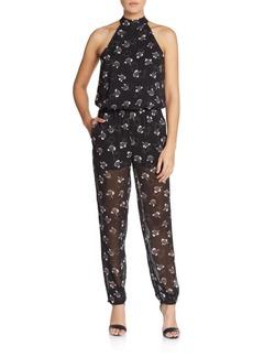 Rebecca Minkoff Hayley Printed Jumpsuit