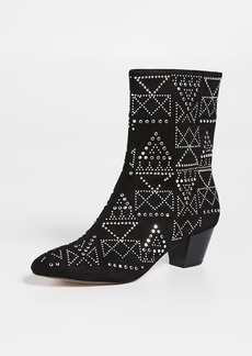 Rebecca Minkoff Hessania Point Toe Booties