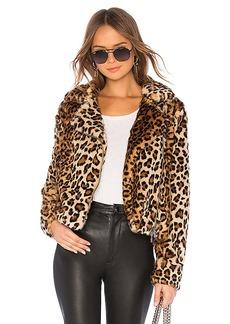 Rebecca Minkoff Hudson Faux Fur Jacket