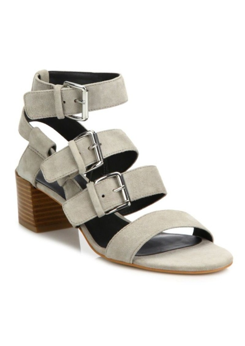 Rebecca Minkoff Ilana Kid Leather Strappy Sandals
