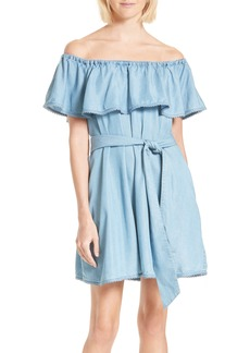 Rebecca Minkoff Iris Off the Shoulder Dress