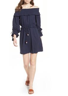Rebecca Minkoff Isla Off the Shoulder Dress