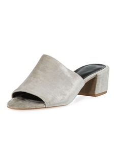 Rebecca Minkoff Ivonne Velvet Mule Sandal