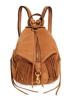 Rebecca Minkoff Julian Fringe Leather Backpack