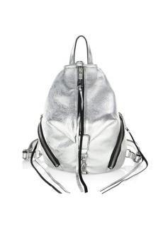Rebecca Minkoff Julian Metallic Mini Backpack