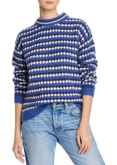 Rebecca Minkoff Katherine Waved Stripe Sweater