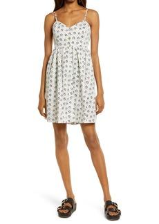 Rebecca Minkoff Katie Tie Back Sleeveless Minidress