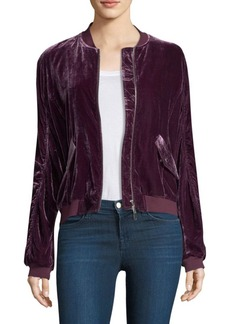 Rebecca Minkoff Kaya Velvet Jacket