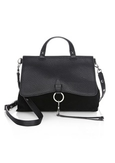 Rebecca Minkoff Keith Medium Leather Satchel