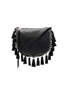Rebecca Minkoff Large Multi Tassel Saddle Bag