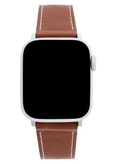 Rebecca Minkoff Leather Apple Watch® Strap