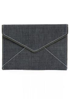 Rebecca Minkoff Leo Denim Envelope Clutch
