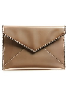 Rebecca Minkoff Leo Mirror Metallic Envelope Clutch