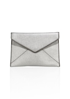 Rebecca Minkoff Leo Saffiano Leather Envelope Clutch