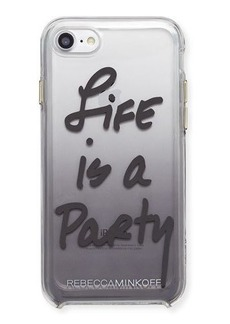 Rebecca Minkoff Life Is A Party Ombré Phone Case