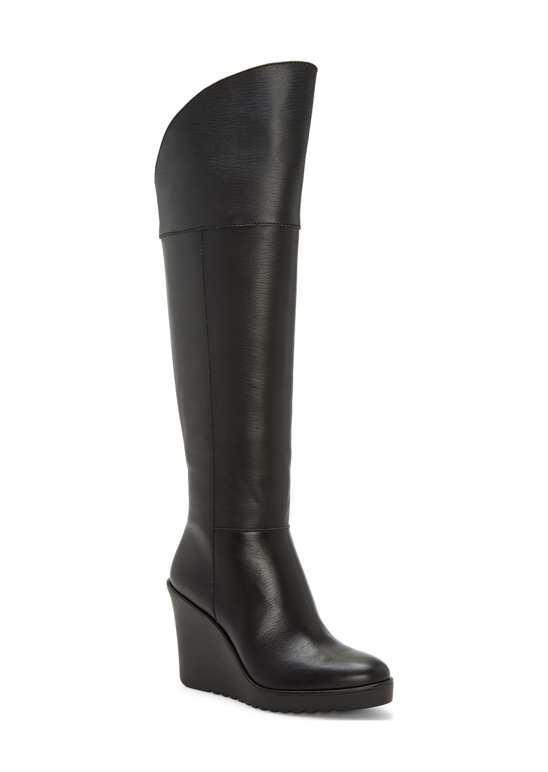 Rebecca Minkoff Lottee Knee High Wedge Boot (Women)