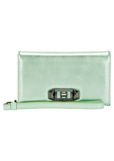 Rebecca Minkoff Love Lock iPhone X Leather Wristlet Folio