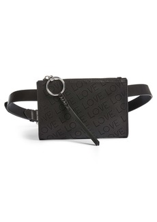 Rebecca Minkoff Love Perforated Leather Belt Bag
