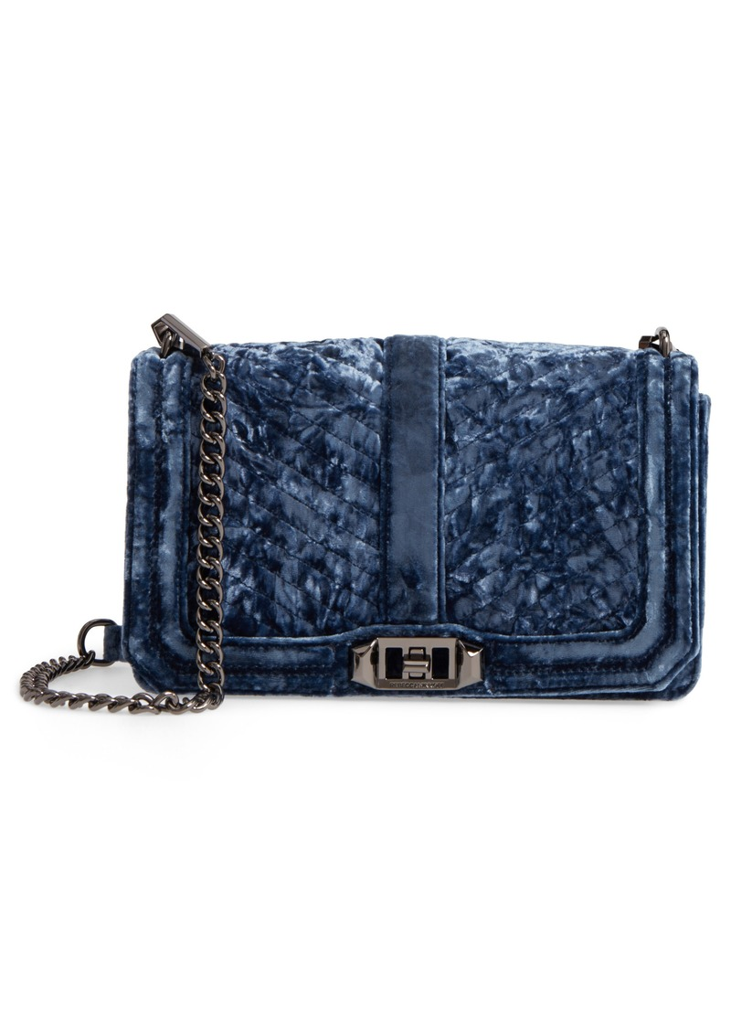 cac13e13db4a On Sale today! Rebecca Minkoff Rebecca Minkoff Love Velvet Quilted ...