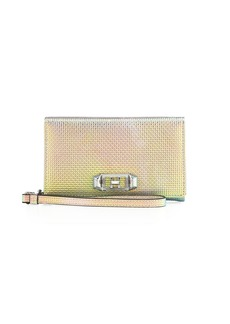 Rebecca Minkoff Lovelock Iridescent Leather Wristlet Phone Bag - iPhone X