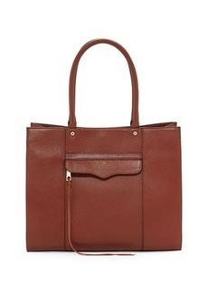 Rebecca Minkoff M.A.B. Medium Leather Tote Bag