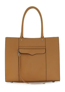 Rebecca Minkoff M.A.B. Medium Leather Tote Bag