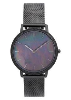 Rebecca Minkoff Major Mesh Strap Watch, 35mm