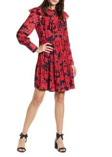 Rebecca Minkoff Margaret Ruffle Long Sleeve Dress