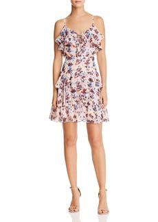 Rebecca Minkoff Marla Ruffled Floral Dress
