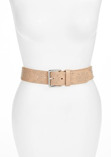 Rebecca Minkoff Mary Studded Nappa Leather Belt