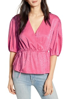 Rebecca Minkoff Mary Wrap Blouse