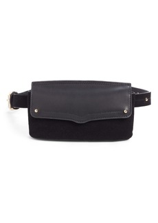 Rebecca Minkoff Maya Leather & Suede Belt Bag