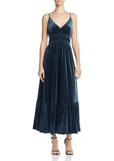 Rebecca Minkoff Mazy Velvet Midi Dress - 100% Exclusive