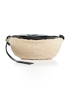 Rebecca Minkoff Medium Shearling Sling Belt Bag