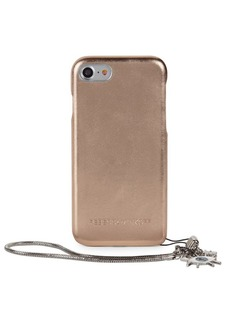 Rebecca Minkoff Metallic Leather Wrap iPhone Case