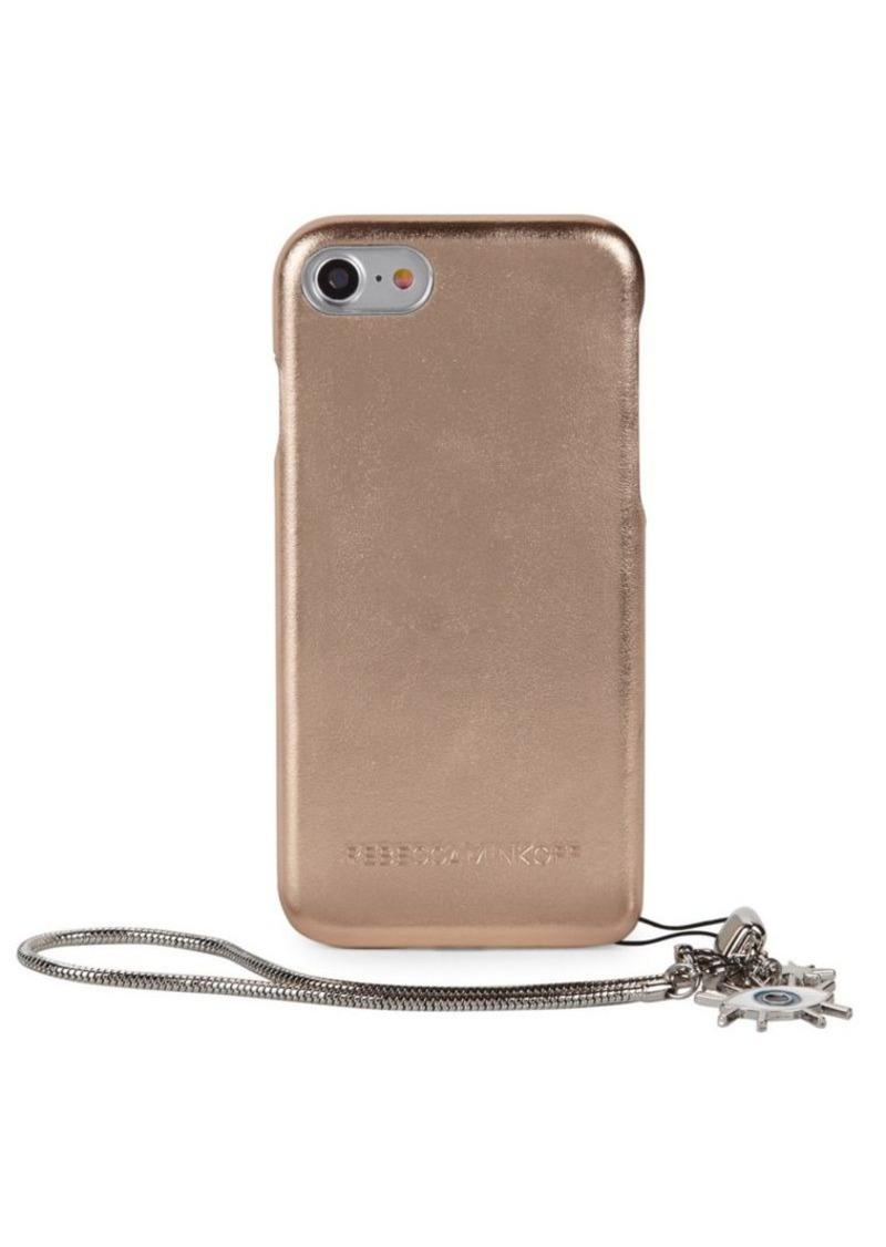 pretty nice 91911 d4a95 Metallic Leather Wrap iPhone Case