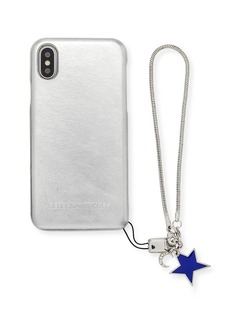 Rebecca Minkoff Metallic Phone Case with Charm for iPhone X