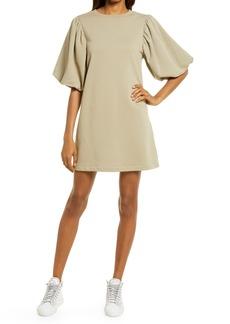 Rebecca Minkoff Mina Elbow Puff Sleeve French Terry Dress