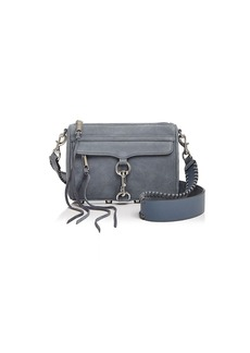 Rebecca Minkoff Mini MAC Guitar Strap Nubuck Crossbody